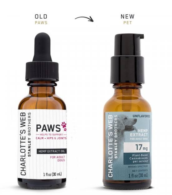Charlottes Web Paws Hemp Extract Oil, For Adult Dogs - 1 fl oz