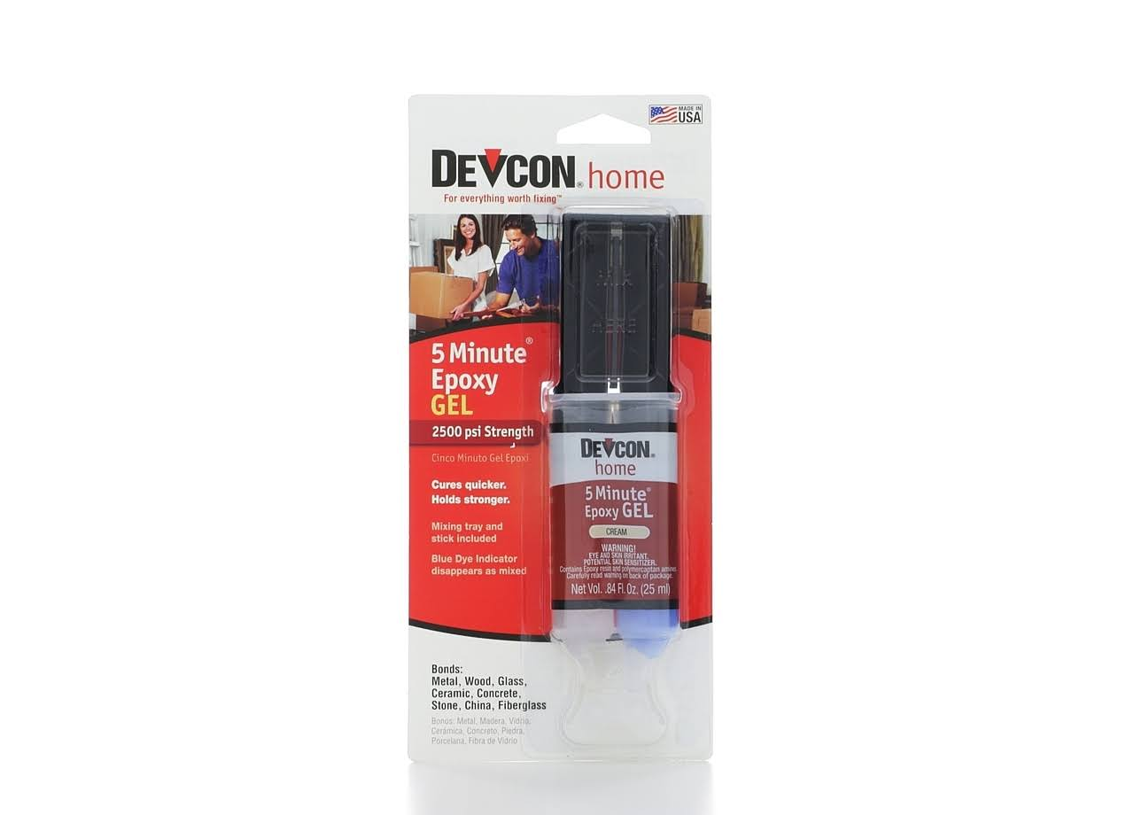 Devcon High Strength 5-minute Epoxy Gel - 1oz