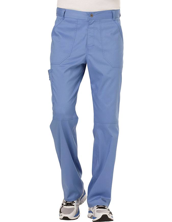 Cherokee Workwear Revolution Men's Fly Front Scrub Pant