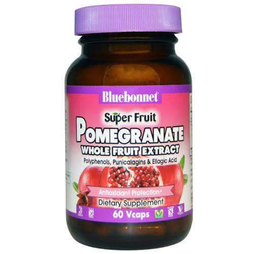 Bluebonnet - Super Fruit Pomegranate Whole Fruit Extract 60 vcaps
