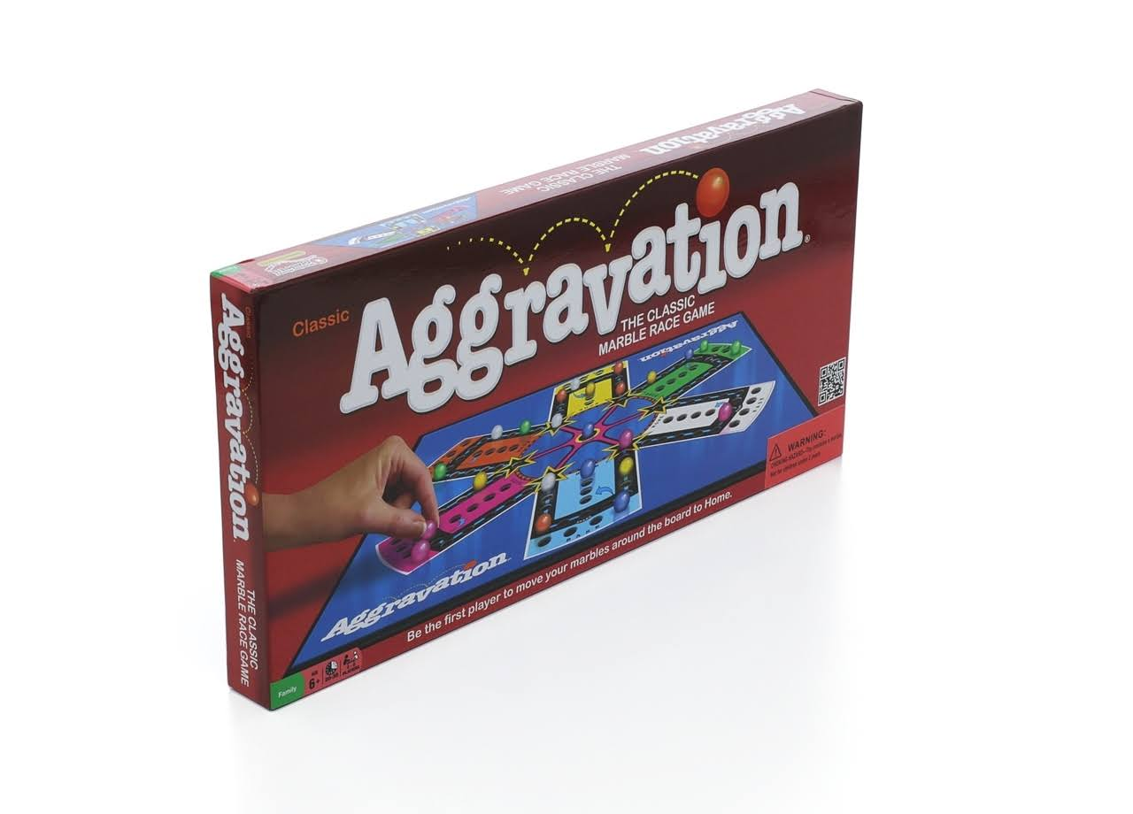 Winning Moves Aggravation Board Game