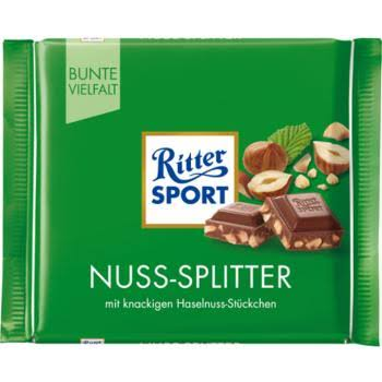 Ritter Sport Milk Chopped Hazelnut
