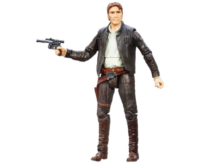 Hasbro Star Wars The Force Awakens Black Series Action Figure - Han Solo, 6""