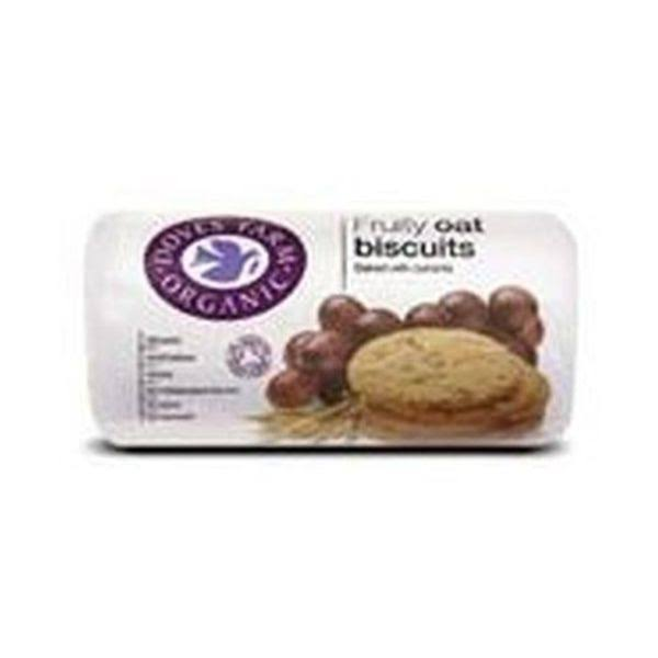 Doves Farm Organic Fruity Oat Biscuits 200 G