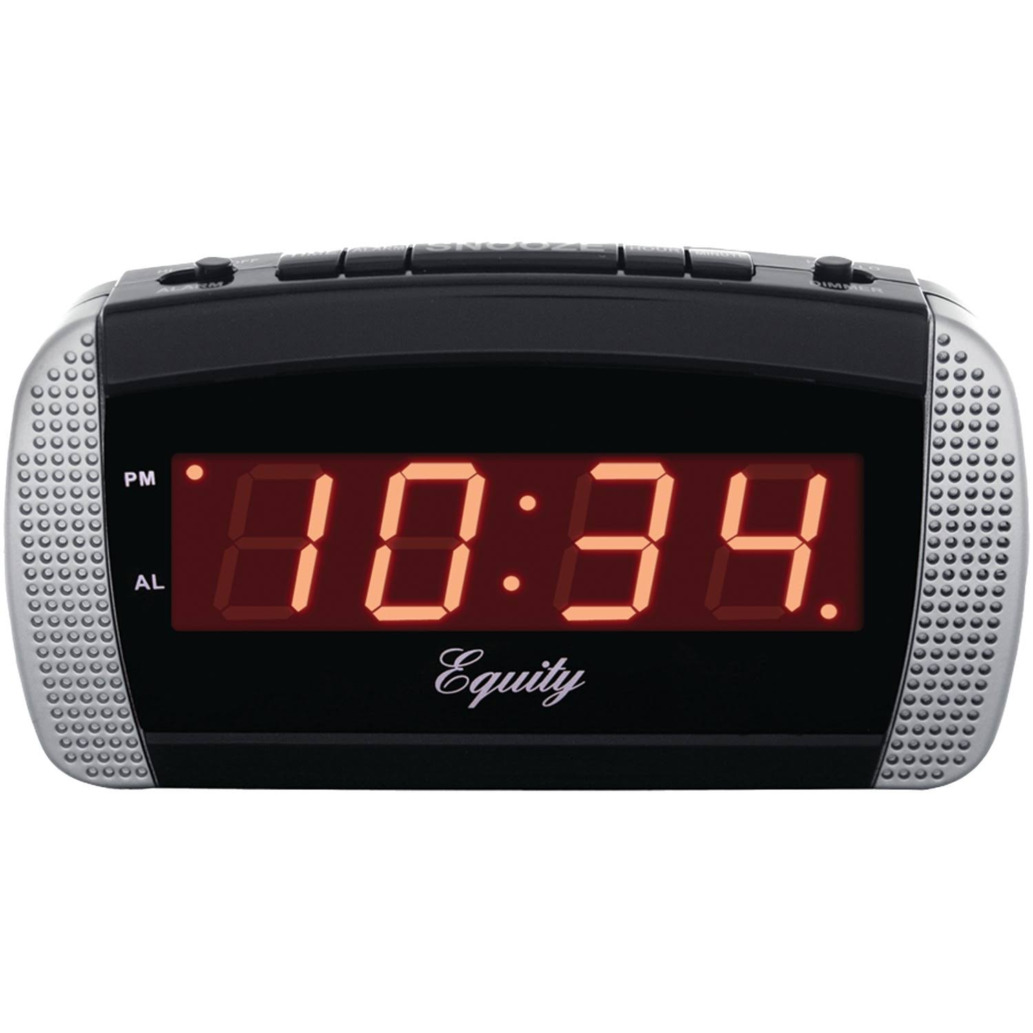 Equity Time Usa Led Alarm Clock