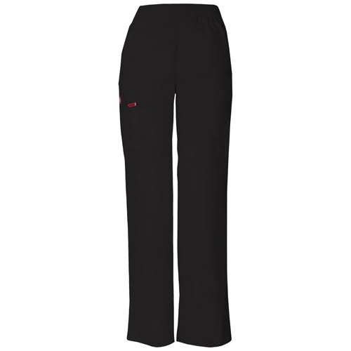 Dickies Women's Signature Scrubs Missy Fit Pull On Cargo Pants - Black, 2XSmall