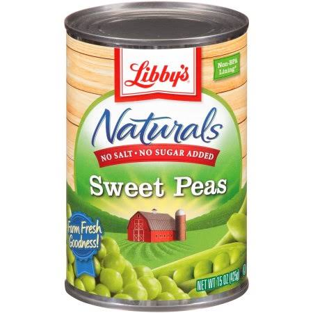 Libby's Naturals Sweet Peas - 15oz