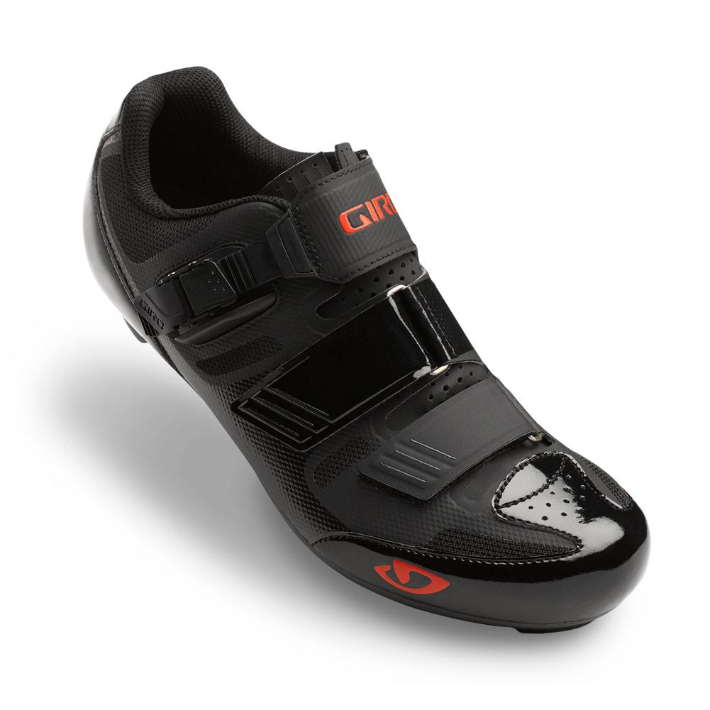 Giro Men's Apeckx II Cycling Shoes - Black/Bright Red, 45.5 EU