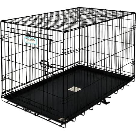 ProValu Single-Door Dog Crate - Black, 24x18x19 in