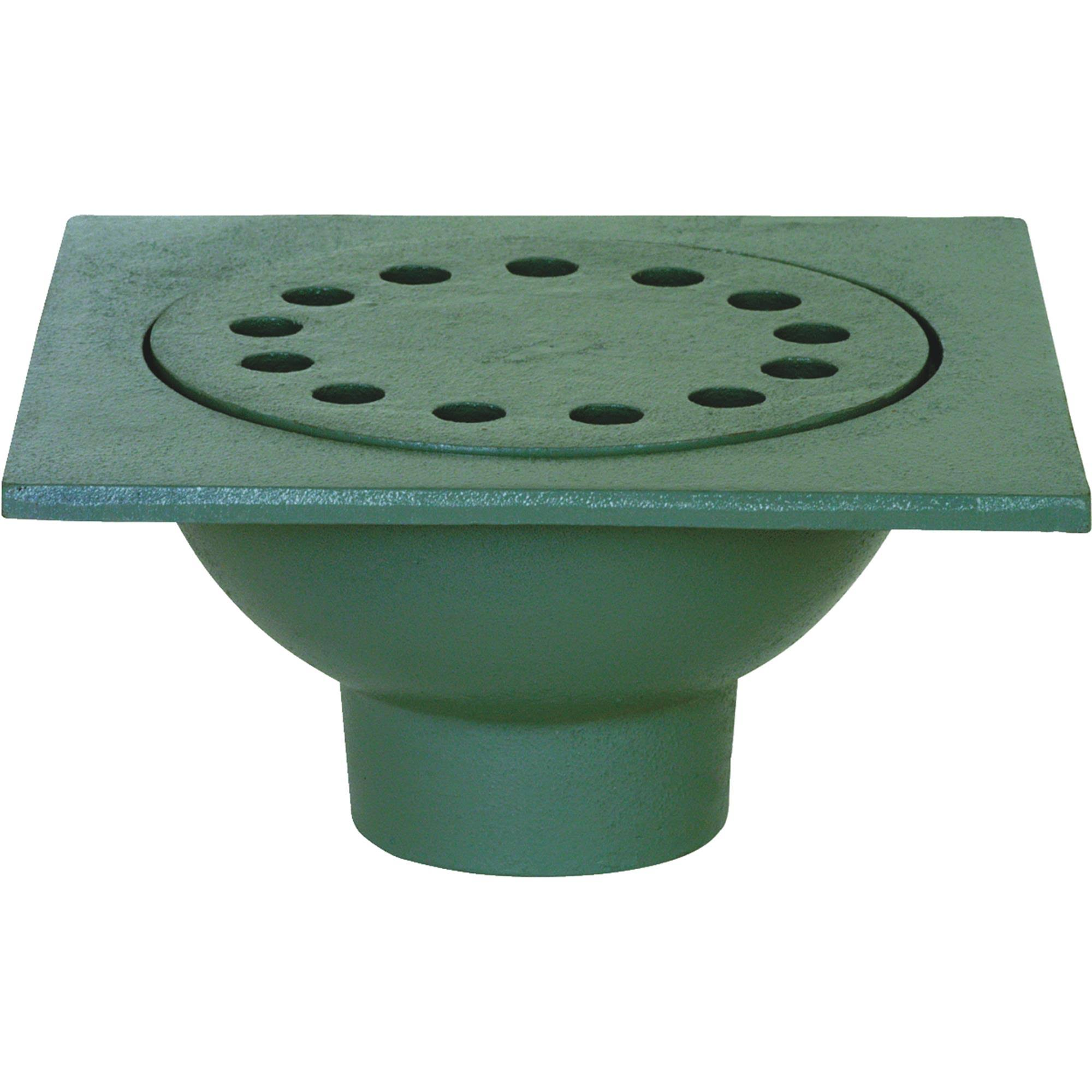 "Sioux Chief Bell Trap Drain - 9"" x 9"""