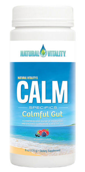 Natural Vitality Calm Specifics Calmful Gut - Wildberry, 6oz