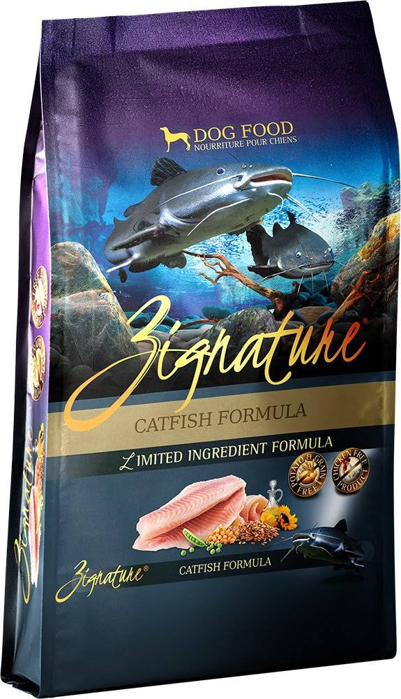 Zignature Limited Ingredient Catfish Dry Dog Food Formula 27 lbs