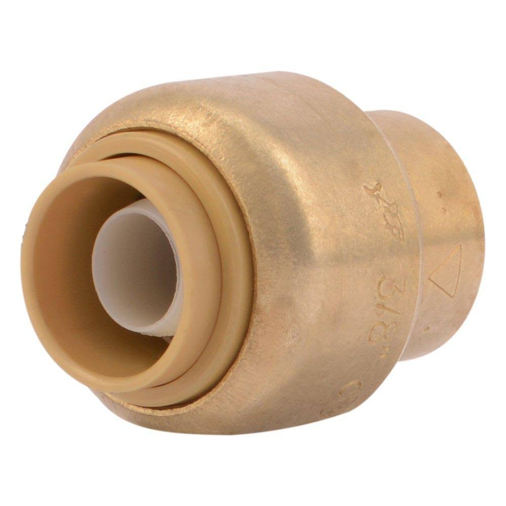 SharkBite Push-to-Connect Brass Cap