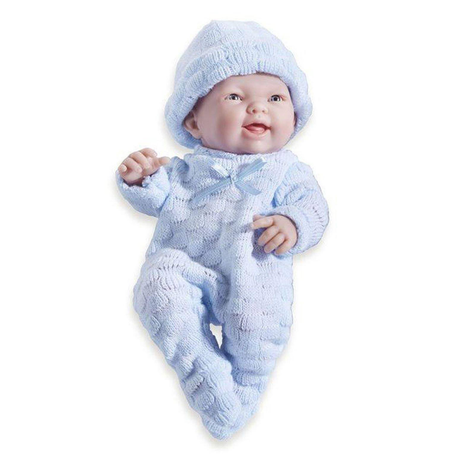 JC Toys Mini La Newborn Real Boy Caucasian Doll