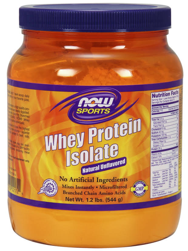 Now Food Whey Protein Isolate - 2260g