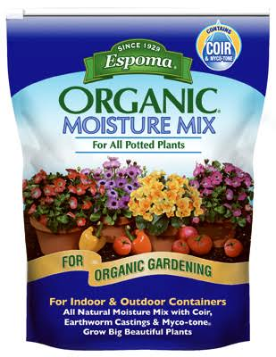 Espoma Organic Moisture Mix Potting Soil - 8 Quart