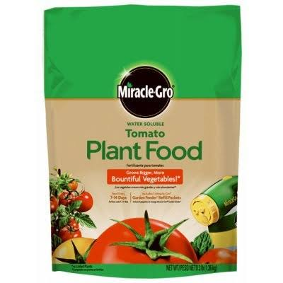 Miracle Gro Water Soluble Tomato Plant Food - 3lbs, Tomato Fertilizer