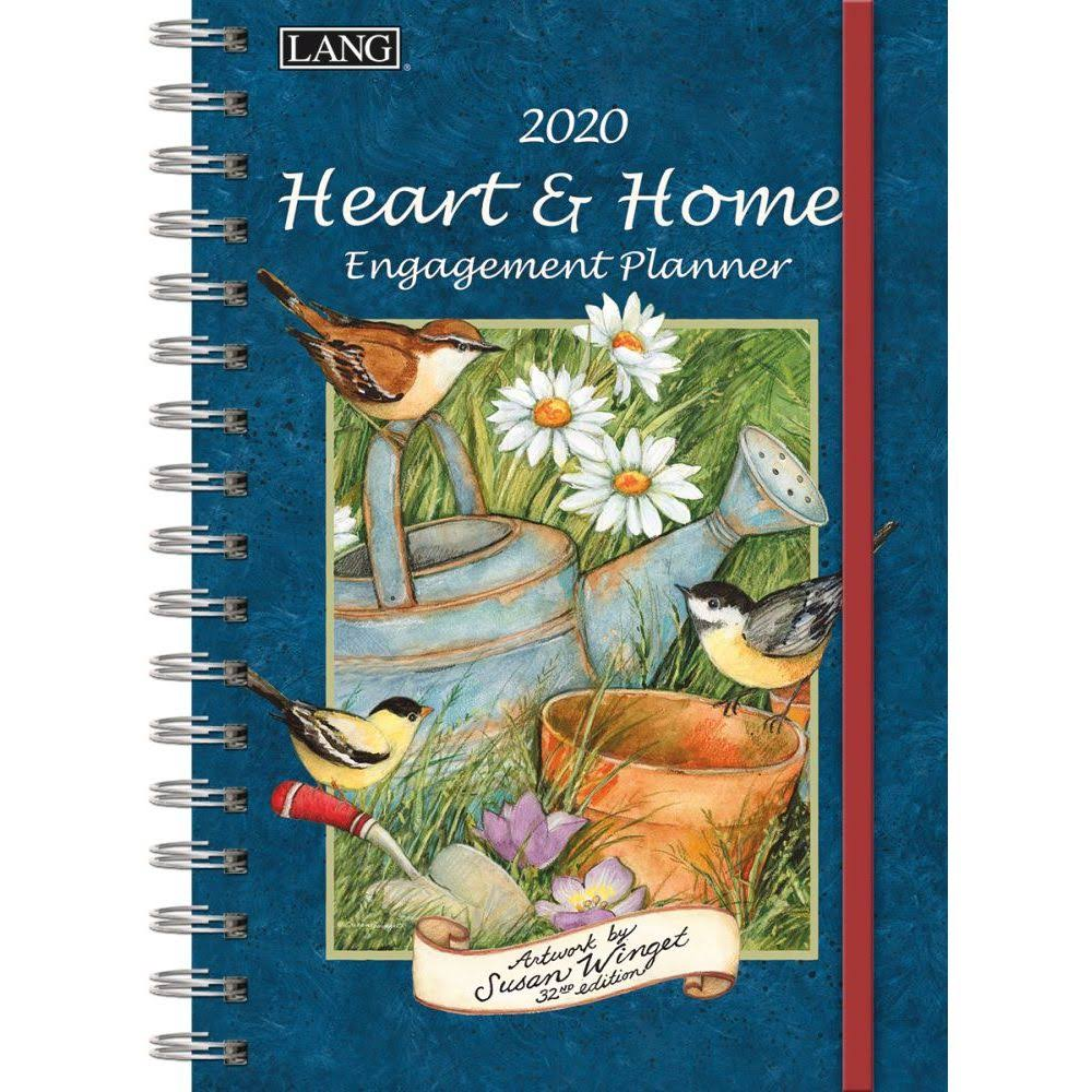 Lang 2020 Heart & Home Spiral Engagement Planner
