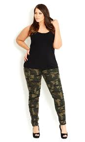 city chic camo cadet cargo women u0027s plus size fashion my