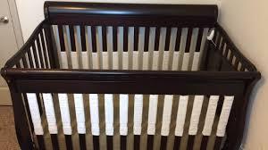 Bratt Decor Crib Skirt by How To Make Your Own Vertical Crib Bumper Youtube