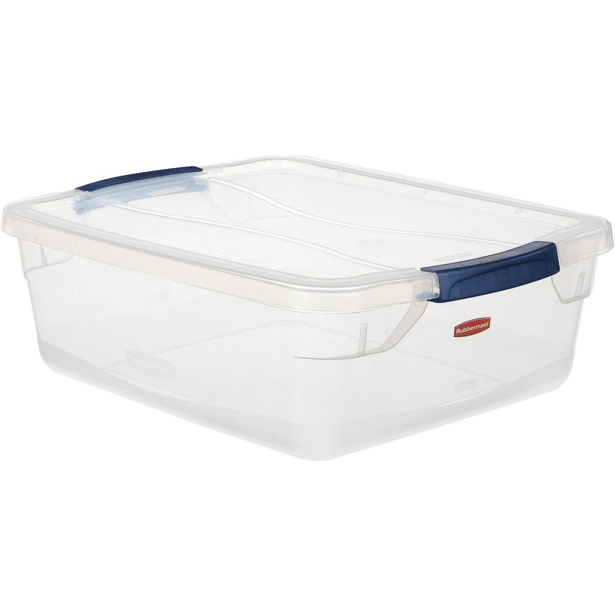 Rubbermaid RMCC150001 Latching Storage Container - 15qt