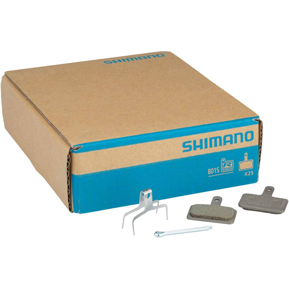 Shimano B01S Resin Disc Brake Pads and Spring 25 Pairs for Deore BR- M575 BR-