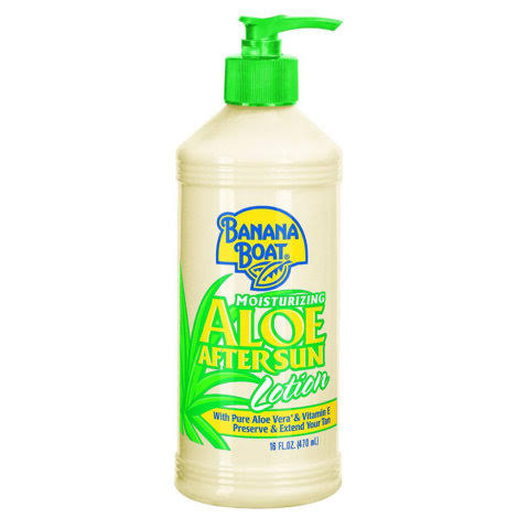 Banana Boat Aloe After Sun Lotion - 473ml
