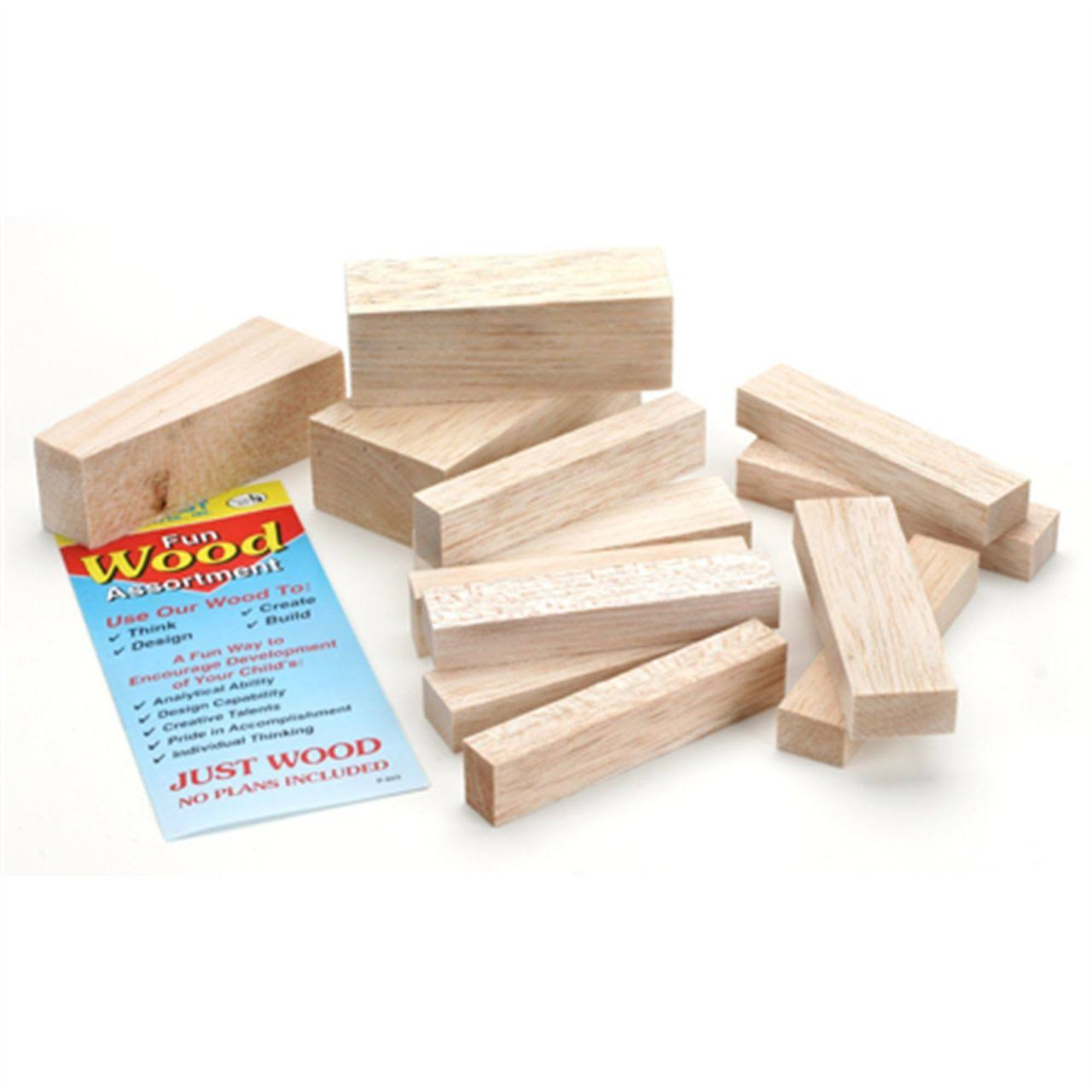 Midwest Products Project Woods Balsa Mini Carving Blocks - Economy Bag