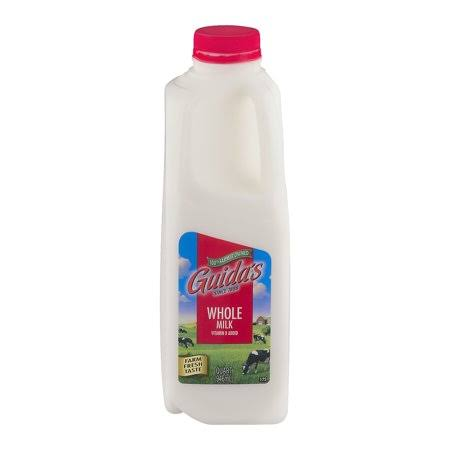 Guida's Whole Milk, 1 Quart, Size: One Quart