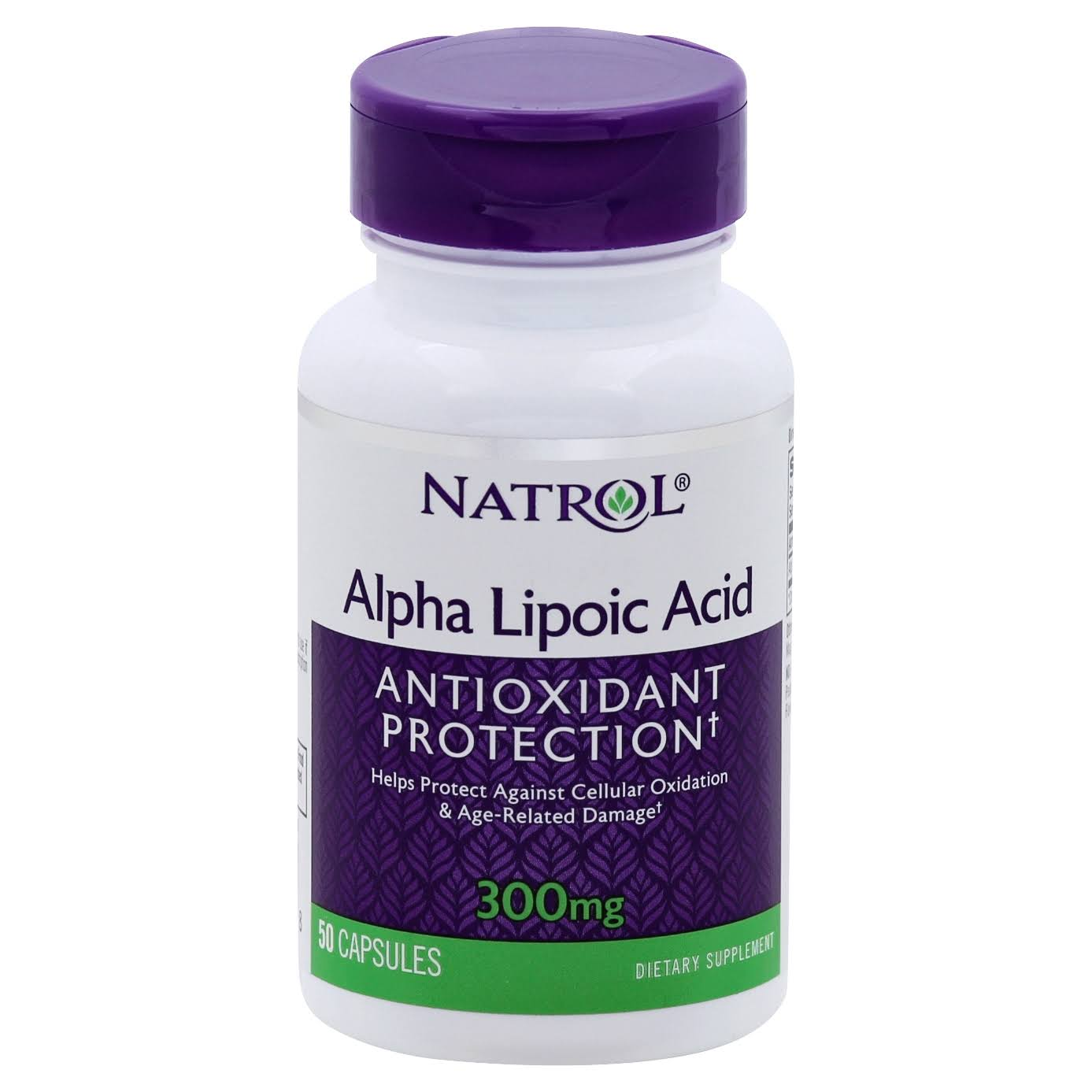 Natrol Alpha Lipoic Acid Dietary Supplement - 300mg, 50 Capsules