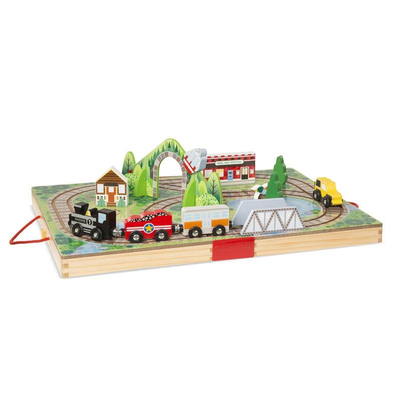 Melissa & Doug - Take Along Railroad