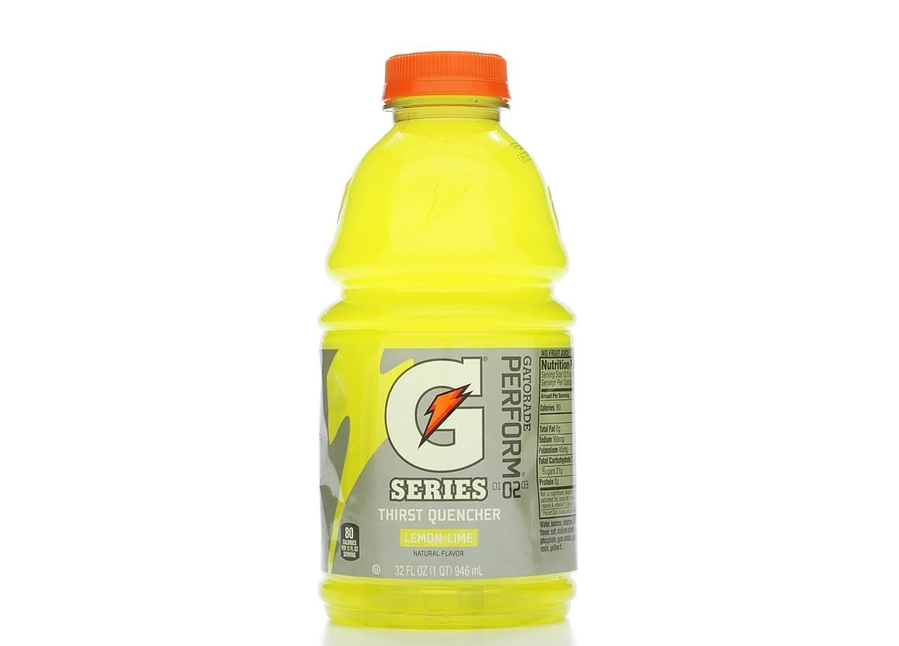 Gatorade Thirst Quencher - Lemon\Lime, 32oz