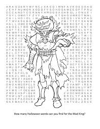 Haunted Halloween Crossword by Worksheet Math Halloween Worksheets Fiercebad Worksheet And