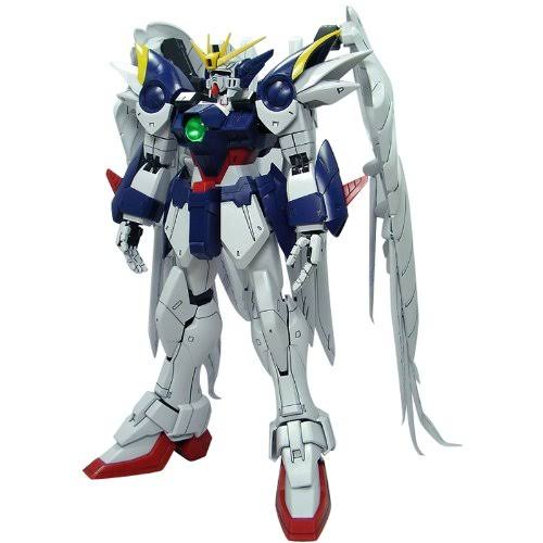 Bandai Scale Mobile Suit Gundam Model Toy Kit - Wing Gundam Zero Custom