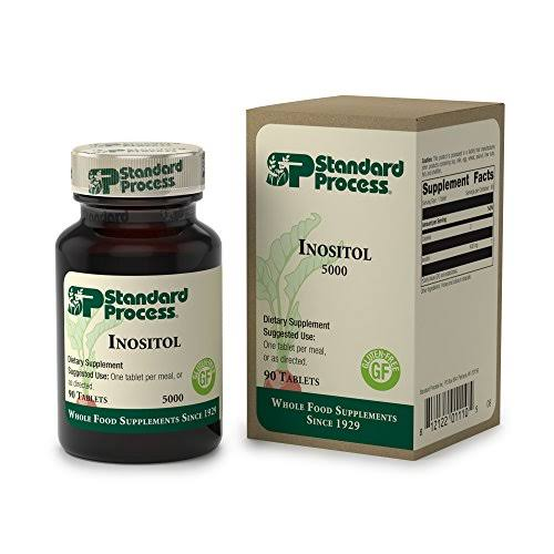 Standard Process Inositol Supplement - 90 Tablets