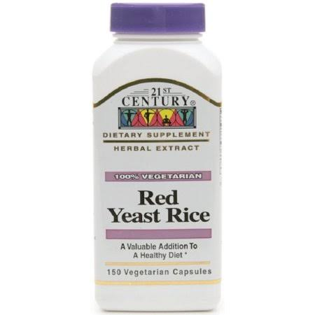 21st Century Red Yeast Rice Extract - 150ct