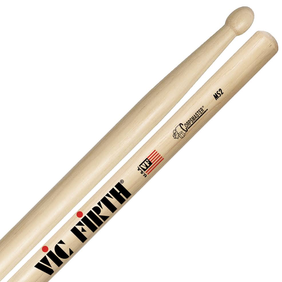 Vic Firth Corpsmaster Snare Drumsticks - 17'' x 0.7""