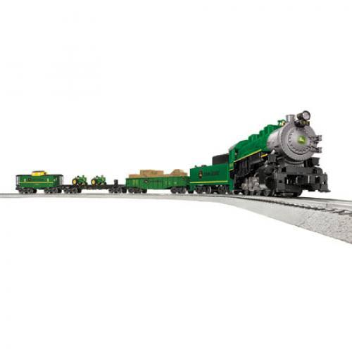 Lionel 6-83286 John Deere Steam LionChief Train Set
