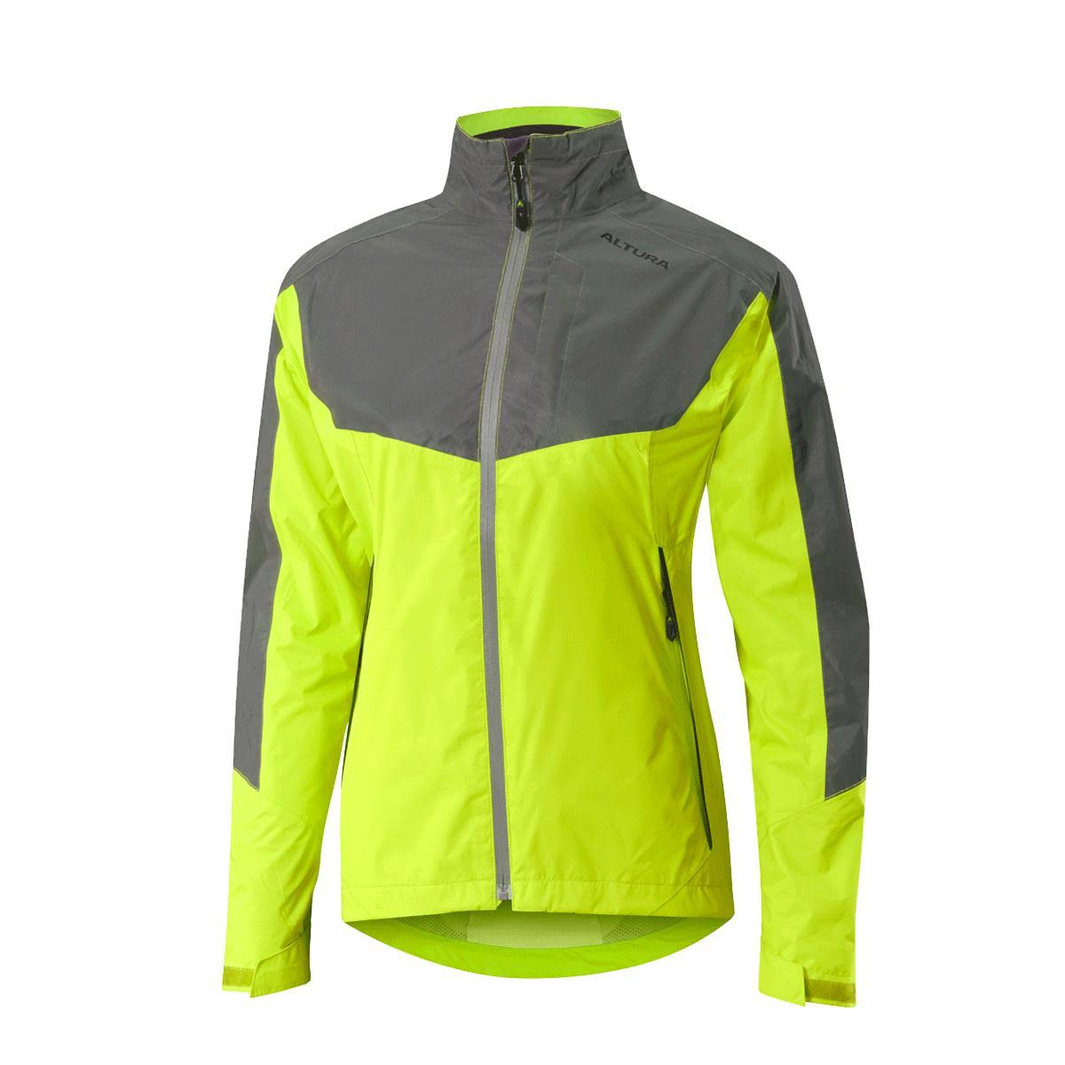 Altura Nightvision Evo 3 Womens Waterproof Jacket Hi Viz Yellow