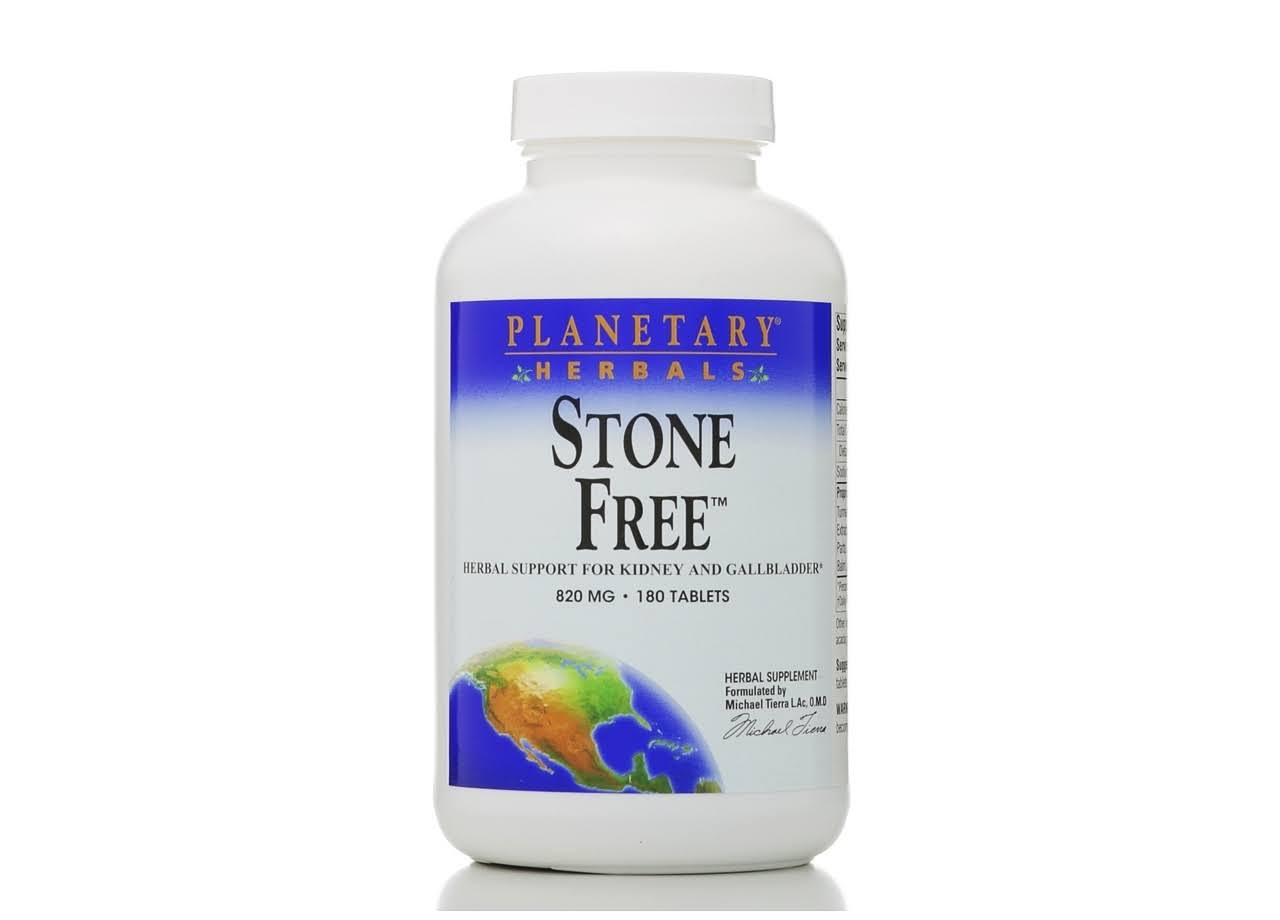 Planetary Herbals Stone Free Herbal Support - 180 Tablets