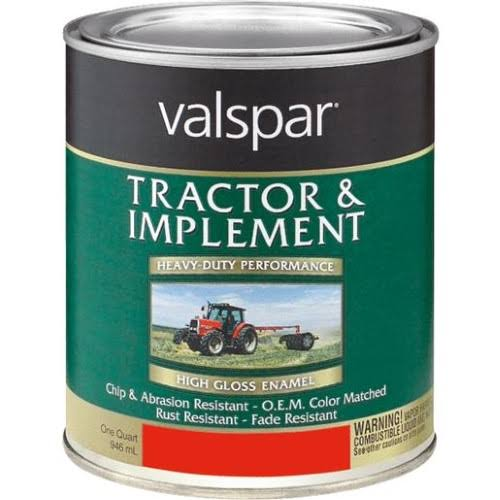 Valspar 4432-02 Massey Ferguson Red Tractor and Implement Paint - 1 Quart