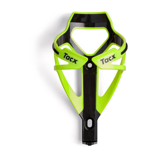 Tacx Deva Water Bottle Cage - Fluorescent Yellow