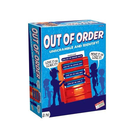 Endless Games out of Order Board Game