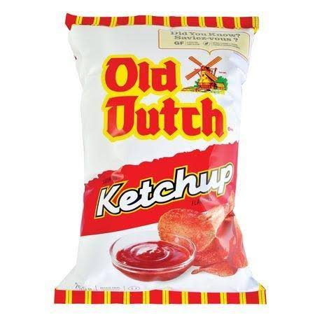 Old Dutch Chips - Ketchup, 255g