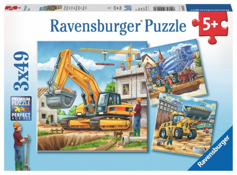 Ravensburger Large Construction Vehicles