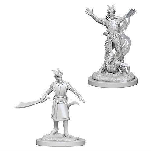 Dungeons & Dragons Nolzur's Marvelous Unpainted Mini Figures - Tiefling Male Warlock