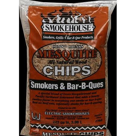 Smokehouse Products All Natural Flavored Wood Smoking Chips - Mesquite
