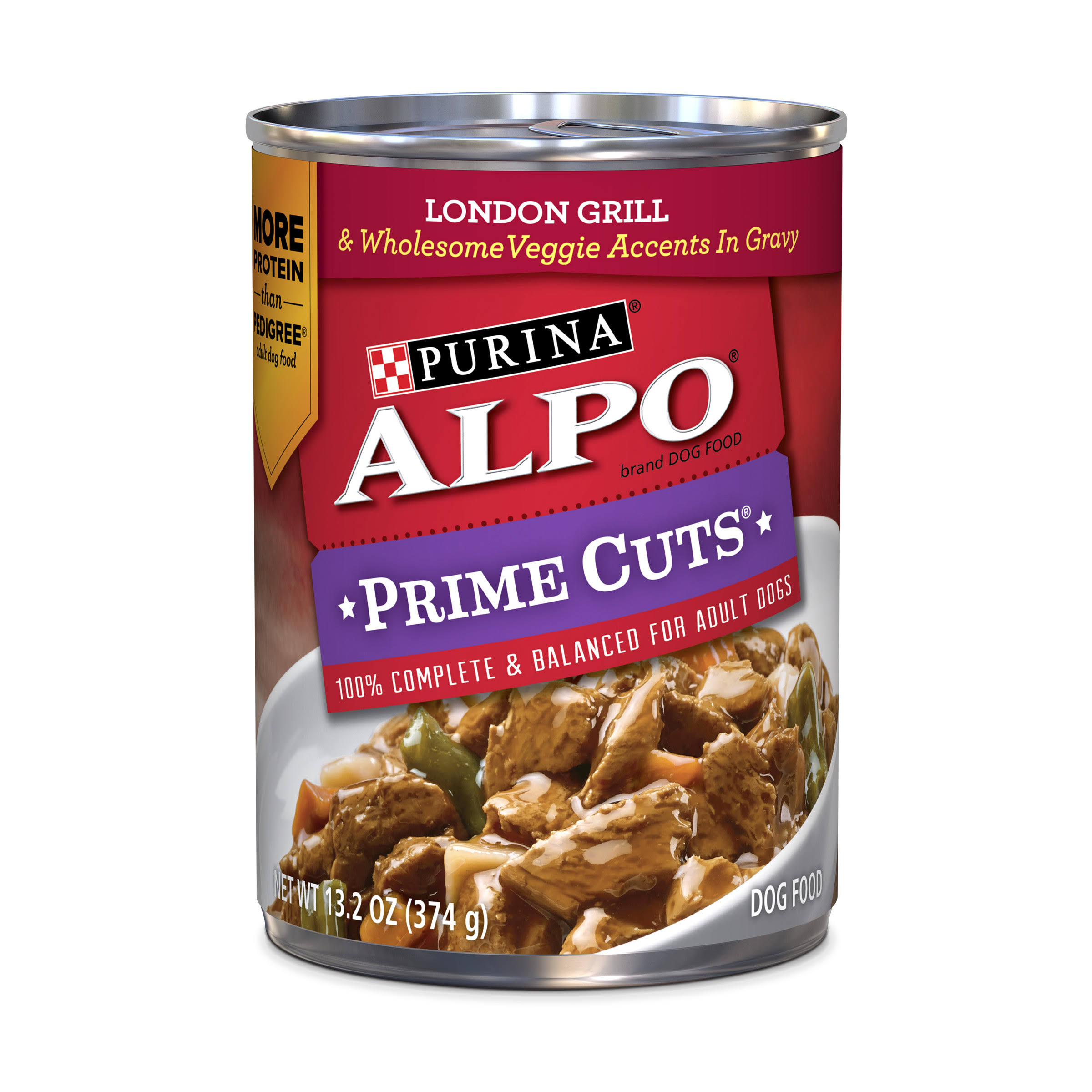 Purina Alpo Prime Cuts London Grill Dog Food - 13oz