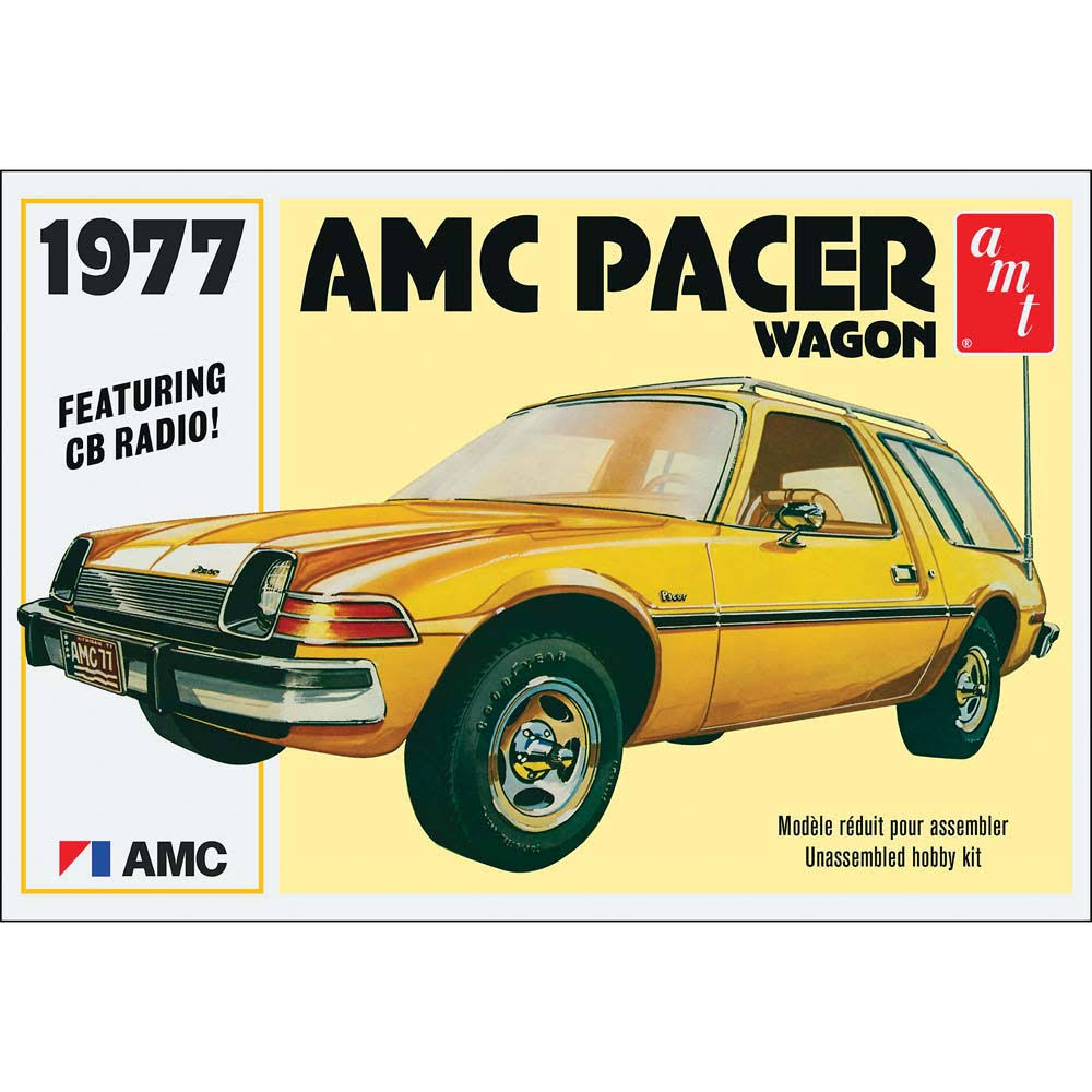 AMT 1977 AMC Pacer Wagon Plastic Model Kit - 1/25 Scale