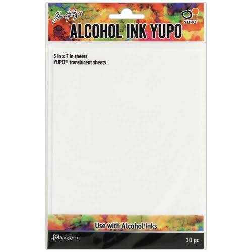 Tim Holtz Alcohol Ink Translucent Yupo Paper